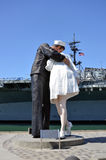 Unconditional Surrender sculpture Royalty Free Stock Photos