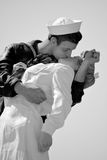 Unconditional Surrender sculpture Royalty Free Stock Photography