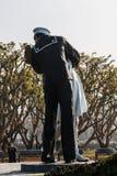 Unconditional Surrender Sculpture by Seward Johnson in San Diego Stock Photos