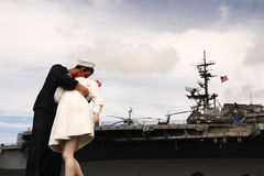 Unconditional Surrender Statue Stock Photography