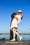 Unconditional Surrender Statue Royalty Free Stock Photography