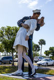 Unconditional Surrender statue, Sarasota Stock Photo