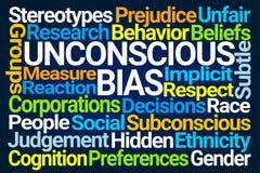 Unconscious Bias Word Cloud stock photos