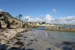 Uncontaminated пляж Стоковое Фото
