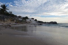 Uncontaminated beach Royalty Free Stock Images