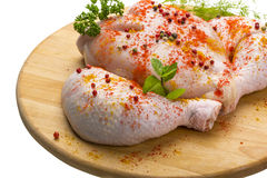 Uncoocked chicken Royalty Free Stock Photography