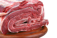 Uncooked asado Stock Photo