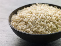 Uncooked Basmati Rice Stock Images