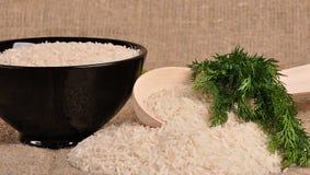 Uncooked basmati rice Royalty Free Stock Image