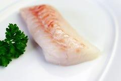 Biała ryba Przygotowywająca dla Gotować fotografia royalty free