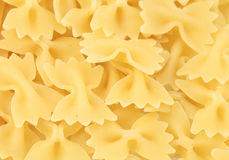 Uncooked Bow Tie Pasta Royalty Free Stock Photography