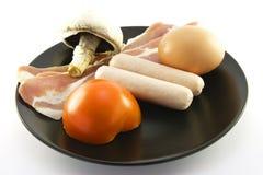 Uncooked Breakfast Stock Images