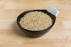 Uncooked, Brown Rice Royalty Free Stock Photos