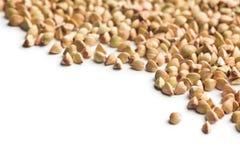 Uncooked buckwheat Royalty Free Stock Photography