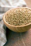 Uncooked buckwheat Royalty Free Stock Images