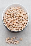 Uncooked chick peas Royalty Free Stock Photo
