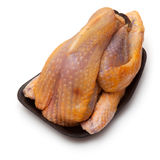Uncooked guinea fowl Stock Photo