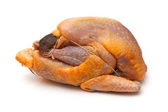 Uncooked guinea fowl stock image