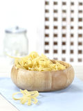Dry pasta-tagliatelle Stock Photography