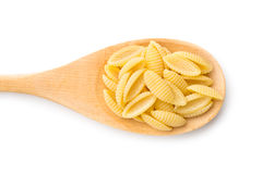 Uncooked italian pasta Royalty Free Stock Image