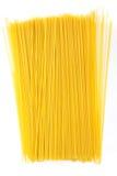Uncooked Italian spaghetti Royalty Free Stock Photography