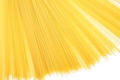 Uncooked Italian spaghetti Royalty Free Stock Photo
