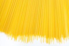 Uncooked Italian spaghetti Royalty Free Stock Image