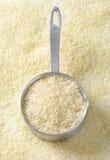 Uncooked jaśminowi ryż Zdjęcie Royalty Free