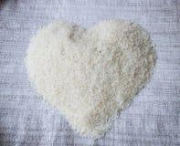 Uncooked jasmine rice Stock Photos