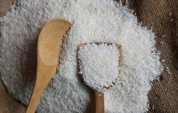 Uncooked kleiści ryż Obrazy Stock