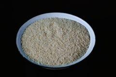 Uncooked kleiści ryż Obraz Stock