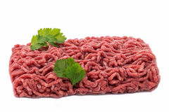 Uncooked  minced meat Stock Photo
