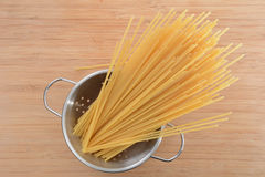 Uncooked Noodles Royalty Free Stock Photo