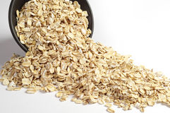 Uncooked oatmeal Obraz Royalty Free