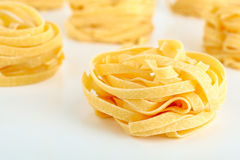 Uncooked pasta Stock Photography