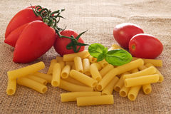 Uncooked Pasta Royalty Free Stock Images