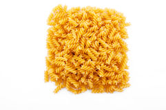 Uncooked pasta Royalty Free Stock Photography