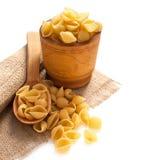 Uncooked pasta Stock Photos