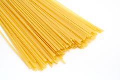 Uncooked pasta Royalty Free Stock Photos