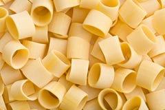 Uncooked pasta calamarata Royalty Free Stock Images