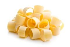 Uncooked pasta calamarata Royalty Free Stock Photo