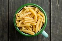 Uncooked pasta caserecce Stock Image