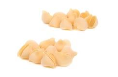 Uncooked pasta lumaconi. Royalty Free Stock Photos
