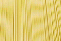 Uncooked pasta spaghetti Royalty Free Stock Images