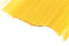 Uncooked pasta spaghetti macaroni Stock Image