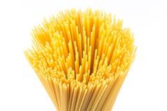 Uncooked pasta spaghetti macaroni Royalty Free Stock Photo