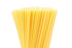 Uncooked pasta spaghetti macaroni Stock Photo