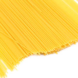 Uncooked pasta spaghetti macaroni Royalty Free Stock Photography