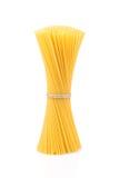 Uncooked pasta spaghetti macaroni Royalty Free Stock Images