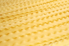 Uncooked pasta texture on table Royalty Free Stock Photos